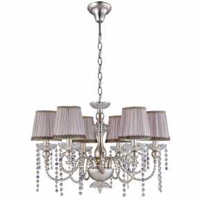 Люстра Crystal Lux ALEGRIA SP6 SILVER-BROWN ALEGRIA