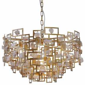 Люстра Crystal lux DIEGO SP9 D600 GOLD DIEGO