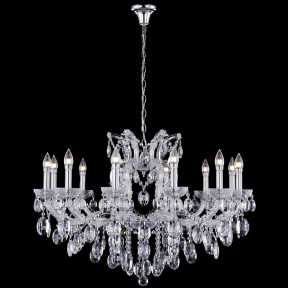 Люстра Crystal Lux HOLLYWOOD SP12 CHROME HOLLYWOOD